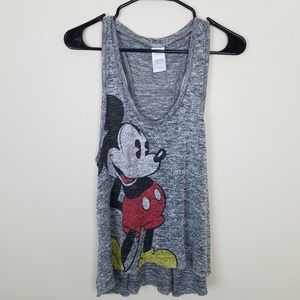 Disney Mickey Mouse Racer Back Tank Top